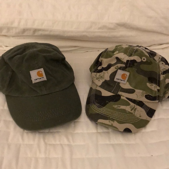 b042484af Pair of Carhart infant ball caps